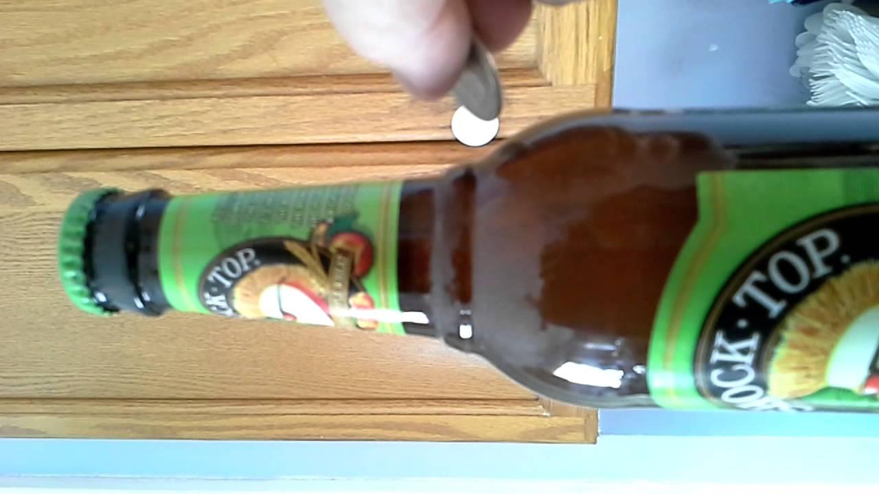 Fridge Beer Magnet Beer/magnet/quarter Cap Open