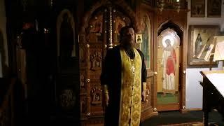 Храм прп. Серафима В Кунцеве. Прямая трансляция богослужения