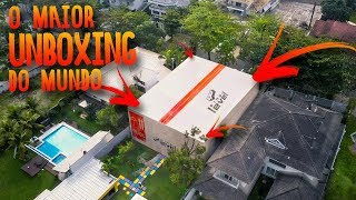 BIGGEST UNBOXING OF THE WORLD - A HOUSE INSIDE THE BOX