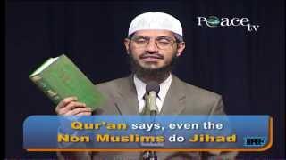 TERRORISM AND JIHAD - AN ISLAMIC PERSPECTIVE | DR ZAKIR NAIK | PART 1