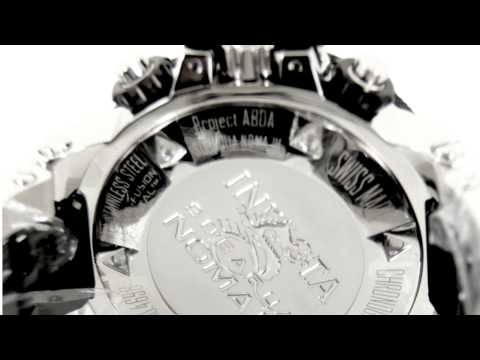 Invicta Watch Invicta Men's Swiss Subaqua NOMA III Chronograph 4696 - Video