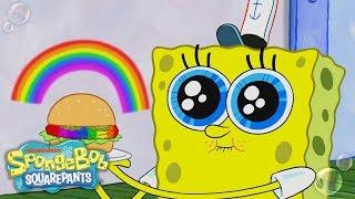 Can SpongeBob?s ?Rainbowger? Survive Plankton?s Color Nullifier? | SpongeBob SquarePants | Nick