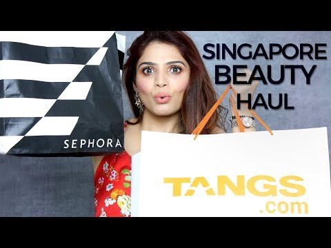 SEPHORA Haul Singapore | Best Makeup Products 2018 | Sephora Makeup Tutorial | Krushhh by Konica