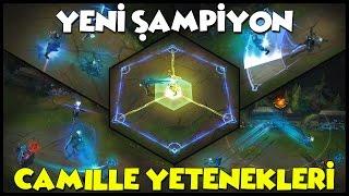YENİ ŞAMPİYON CAMILLE YETENEKLERİNE İLK BAKIŞ   Türkçe   League of Legends
