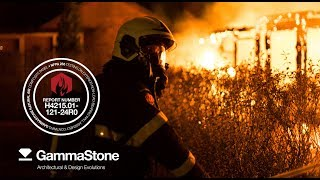 GammaStone Fire Test NFPA 285