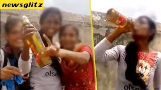 College Girls Drinking beer | Vellore