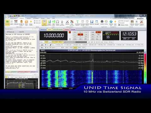 Help ID Strange Shortwave Time Signal via Swiss SDR (2013-04-27)
