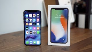 Hands-On With the iPhone X!