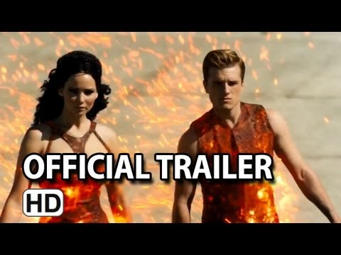 The Hunger Games: Catching Fire International Trailer (HD) Jennifer Lawrence