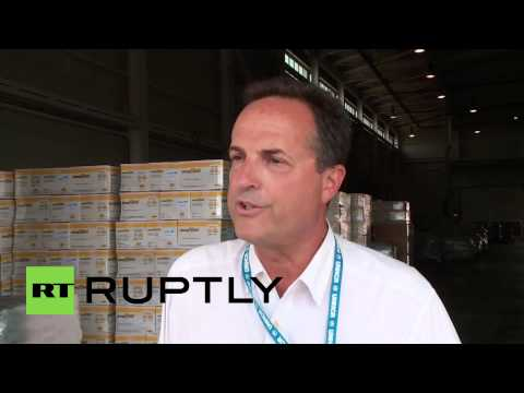 Iraq: UN plane lands in Erbil with 100 tonnes of aid