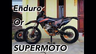 PROSES GANTI VELG BAN SET VIXION KTM ENDURO KE VELG BAN SET SUPERMOTO! Gopro Hero 5 Black Edition