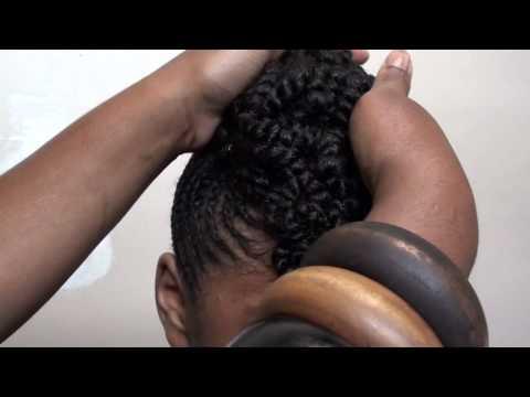 Mae's Braided Updo by Stylist April B [Atlanta. GA]