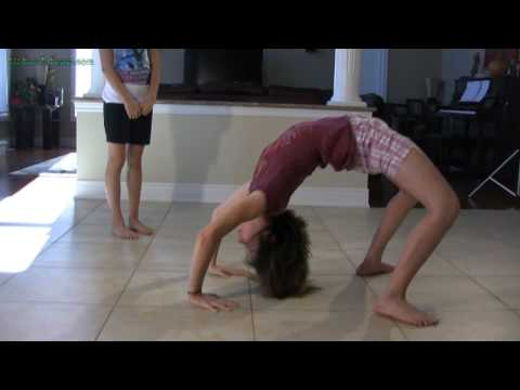 Front Walkover Tutorial for Dance, Cheerleading and Gymnastics Training