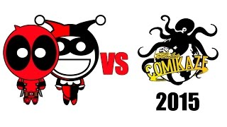 Deadpool & Harley Quinn vs Comikaze Expo 2015