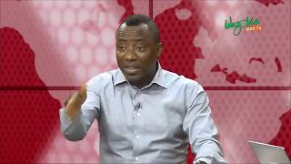 Sowore : I Knew The Election Wasn't Going To Hold & Was Not Surprise