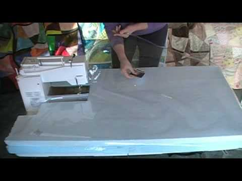 How To Build A Cheap Sewing And Quilting Table 2 Youtube