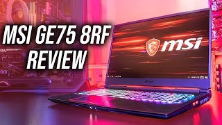 MSI GE75 8RF Gaming Laptop Review - GTX 1070 in 2019?