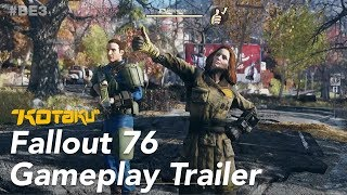 """Fallout 76 Gameplay Trailer """"Let's Work With Others"""" E3 2018"""