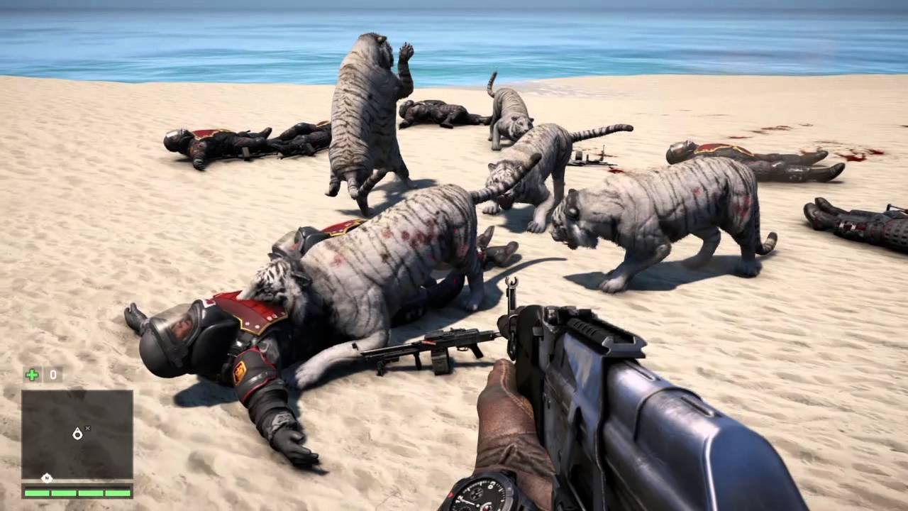 White Tiger Far Cry 4 Far Cry® 4 7 Heavy Gunners vs