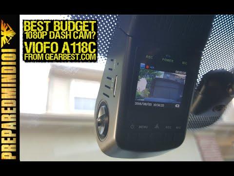 Best Budget Dash Cam? (Viofo A118C from Gearbest) - Preparedmind101