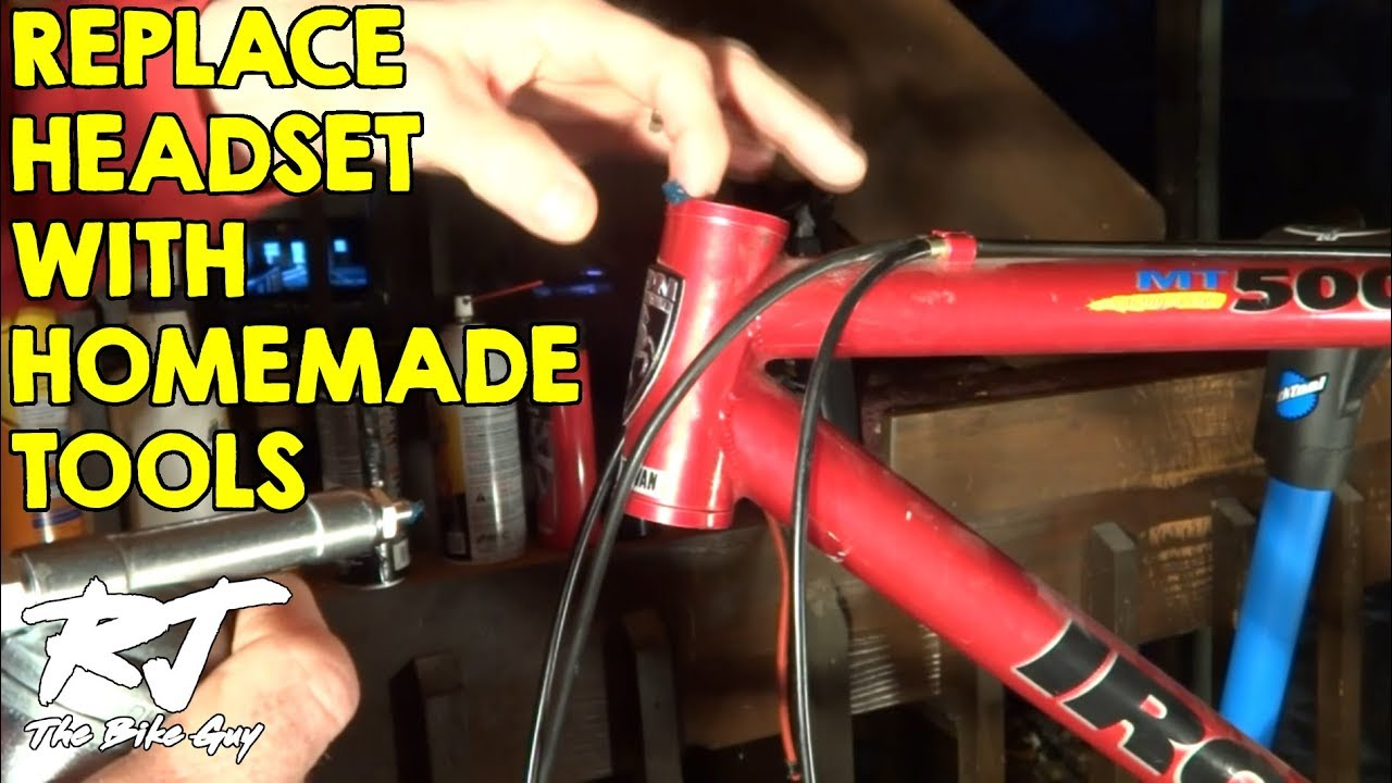 Bike Parts And Accessoriesu002fpin Tool Replace Bike Headset With