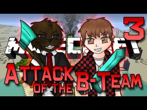 Minecraft: Attack of the B-Team Ep. 3 - House Work & Lots Of New Ores! (Summon Minions Mod)