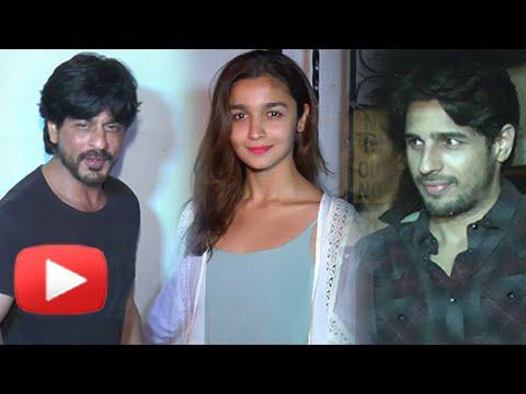 Shahrukh Khan, Alia Bhatt, Sidharth Have Fun At Karan Johar Bash 2016