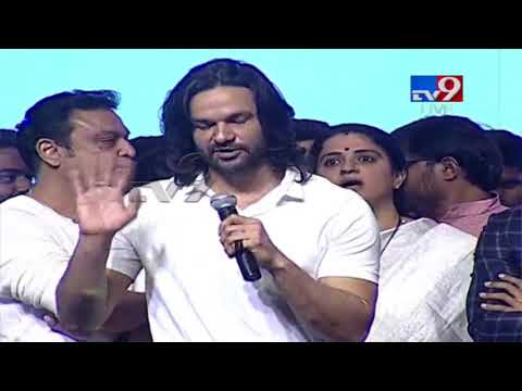 Amit Purohit speech at Sammohanam Pre Release - TV9