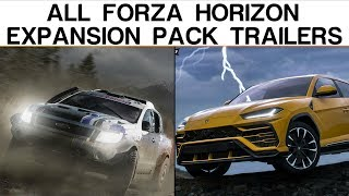 Evolution of Forza Horizon Expansion Pack Trailers (2012 - 2018)