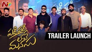 Padi Padi Leche Manasu Trailer Launch | Sharwa | Sai Pallavi | NTV