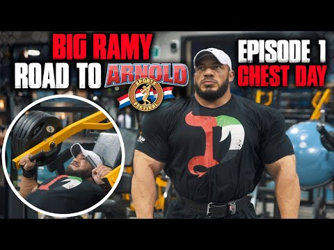 BIG RAMY | ROAD TO ARNOLD  2020 | 9 WEEKS OUT | EPISODE 1