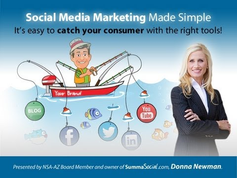 Social Media Marketing is as Simple as Fishing: 5 tools to catch & keep customers by Donna Newman