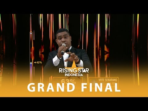 "Andmesh Kamaleng ""Making Love Out Of Nothing At All"" I GRAND FINAL I Rising Star Indonesia 2016"