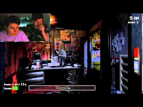 Dan and Phil Jumpscares (Five Nights at Freddy's)