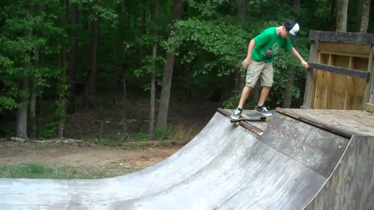 the backyard skatepark youtube
