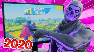 I used STRETCHED RESOLUTION in Fortnite 2020... (even more op)