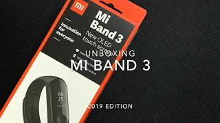Mi Band 3 unboxing (2019 version)