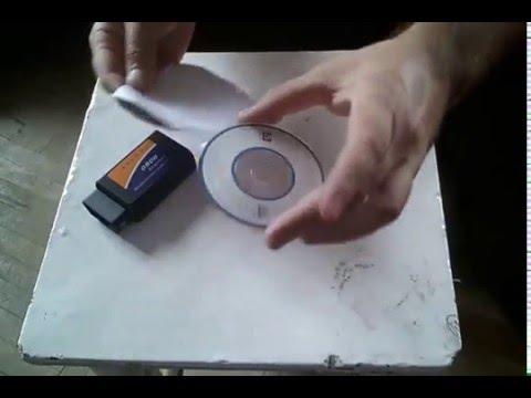 OBD-2 ELM 327 V1.5 Bluetooth unpacking