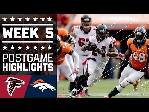 Falcons Vs Broncos Nfl Week 5 Game Highlights