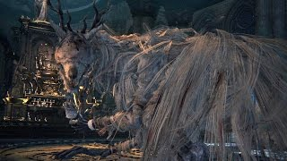 Bloodborne: Vicar Amelia Boss Fight (1080p)