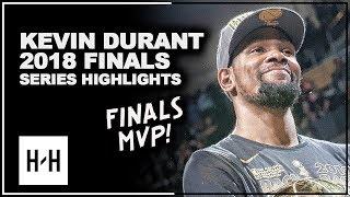 Kevin Durant CLUTCH Full Series Highlights vs Cavaliers 2018 NBA Finals - 2x Finals MVP!