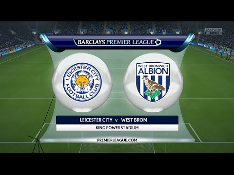 Leicester - West Bromwich Albion [FIFA 16] | Barclays Premier League (28th Day) | CPU Vs. CPU