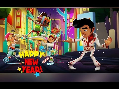 Subway Surfers: HAPPY NEW YEAR 2016!!! WAKING UP IN VEGAS