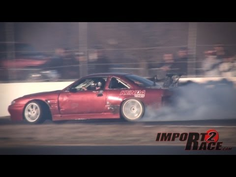 2 Nissan 240sx Drifting