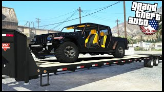 GTA 5 ROLEPLAY - BUYING WRECKED 2020 JEEP GLADIATOR  - EP. 939 - AFG -  CIV