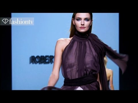 Mad Men Motifs at Roberto Torretta Fall 2012 | Mercedes-Benz Fashion Week Madrid | FashionTV