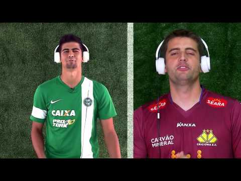 Premiere FC - Samba do Campeonato Brasileiro 2014 com Jogadores