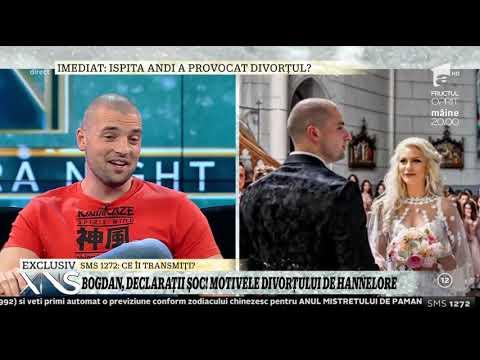 """Bogdan, declaraţii şoc! Motivele divorţului de Hannelore! """"Decizia am luat-o amândoi!"""""""
