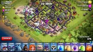 Clash of Clans 999 witch attack