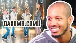 Ariana Grande Surprises TNT Boys f/ 'The World's Best' (James Corden) Reaction